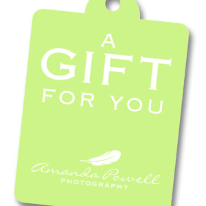 Photography Gift Vouchers - Amanda Powell Photography