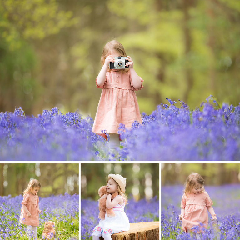 Bluebell photo shoot