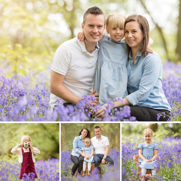 Bedfordshire Bluebell Photo Shoot