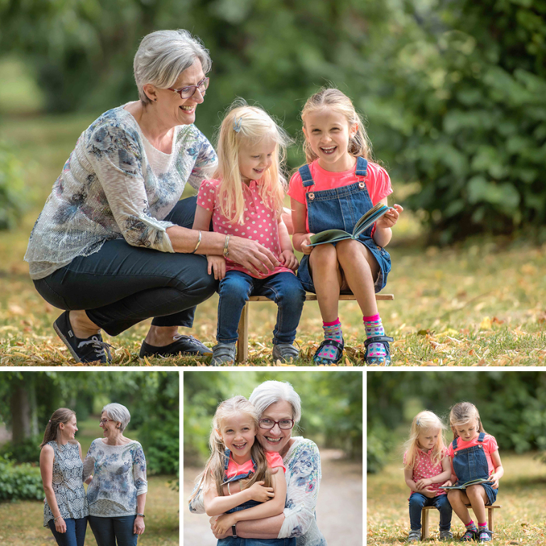 Family photographs in Bedfordshire
