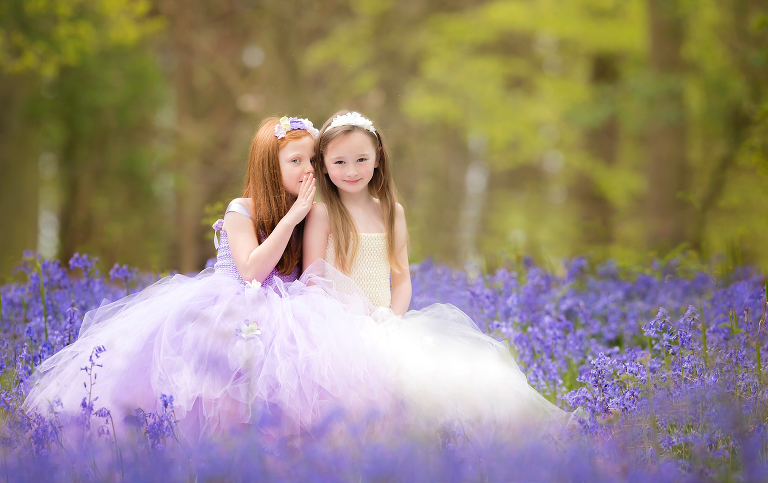 Girls in the Bluebells